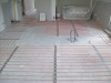 Bathroom - In screed on concrete floor