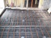 In slab heating - House extension